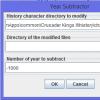 Year Subtractor