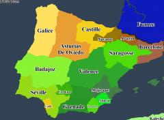 Rédacteurs d'Etats sur carte - exemple sur extrait de carte