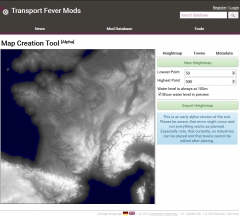 Map creation tool