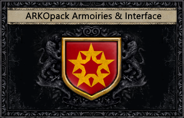 MOD] ARKOpack Armoiries & Interface - [Crusader Kings 2